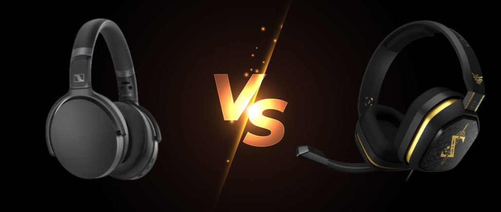 gaming headset vs regular headset